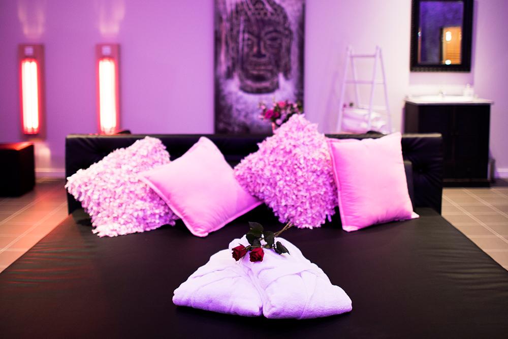 Heerlijk relaxen op het loungebed